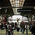 Gare du Nord, embarquement immédiat.