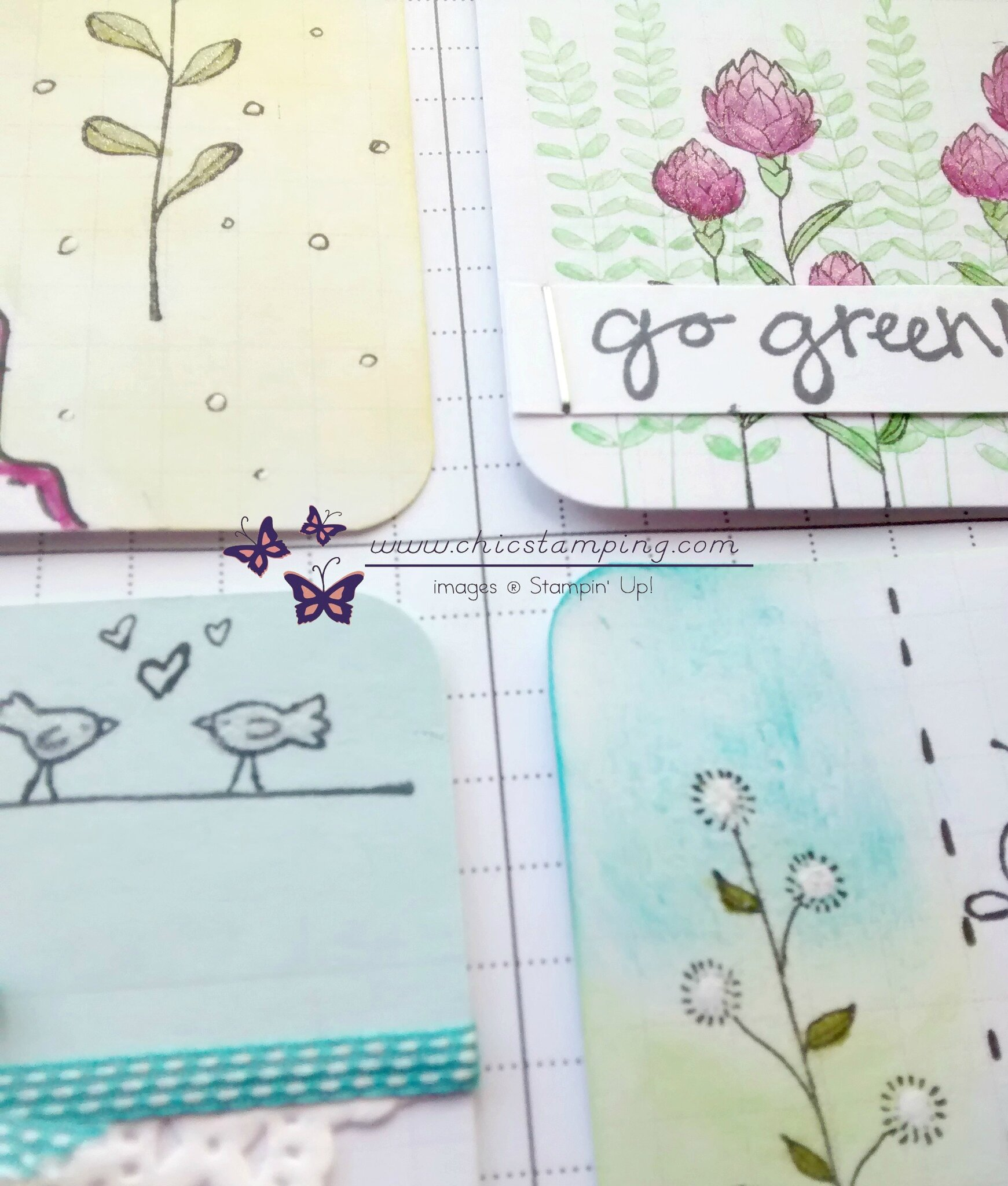 DIY project life card serie Flower Fields sneak peek