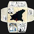 Le cercle littéraire ... , montage. Caroline Foulonneau.