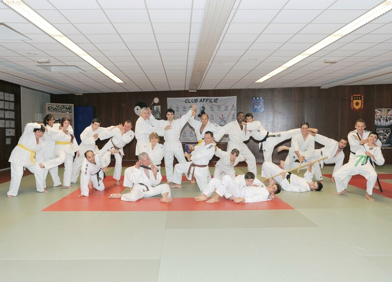 Section Jujitsu du Ballan Judo Club (Saison 2014-2015)
