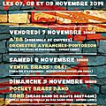 Abrin'cuivres! concerts à pontorson, avranches et le val saint père les 7, 8 et 9 novembre 2014