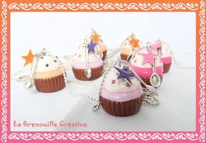Collier Cup cake violet (2)