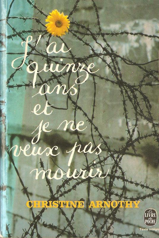 """""""J'ai quinze ans et je ne veux pas mourir, suivi"""" de """"Il n'est pas si facile de vivre"""" de Christine Arnothy"""