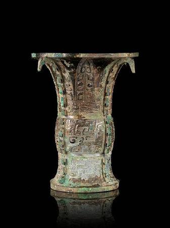 A_rare_archaic_bronze_ritual_wine_vessel__zun3