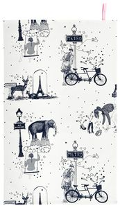 TR Toile de Jouy Grey