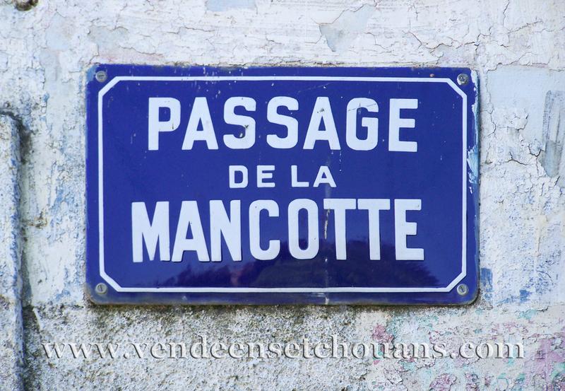 Le passage de la Mancotte