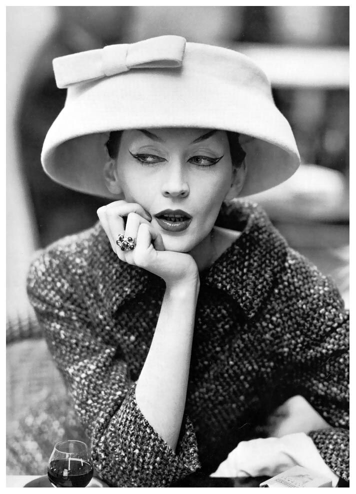Balenciaga, photo by Richard Avedon, August 1955