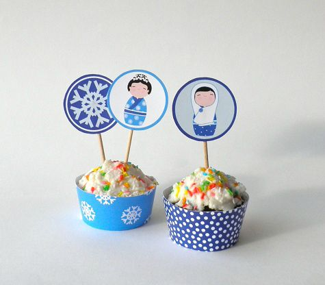 flakes cup cakes