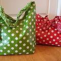 Deux sacs pour deux miss.