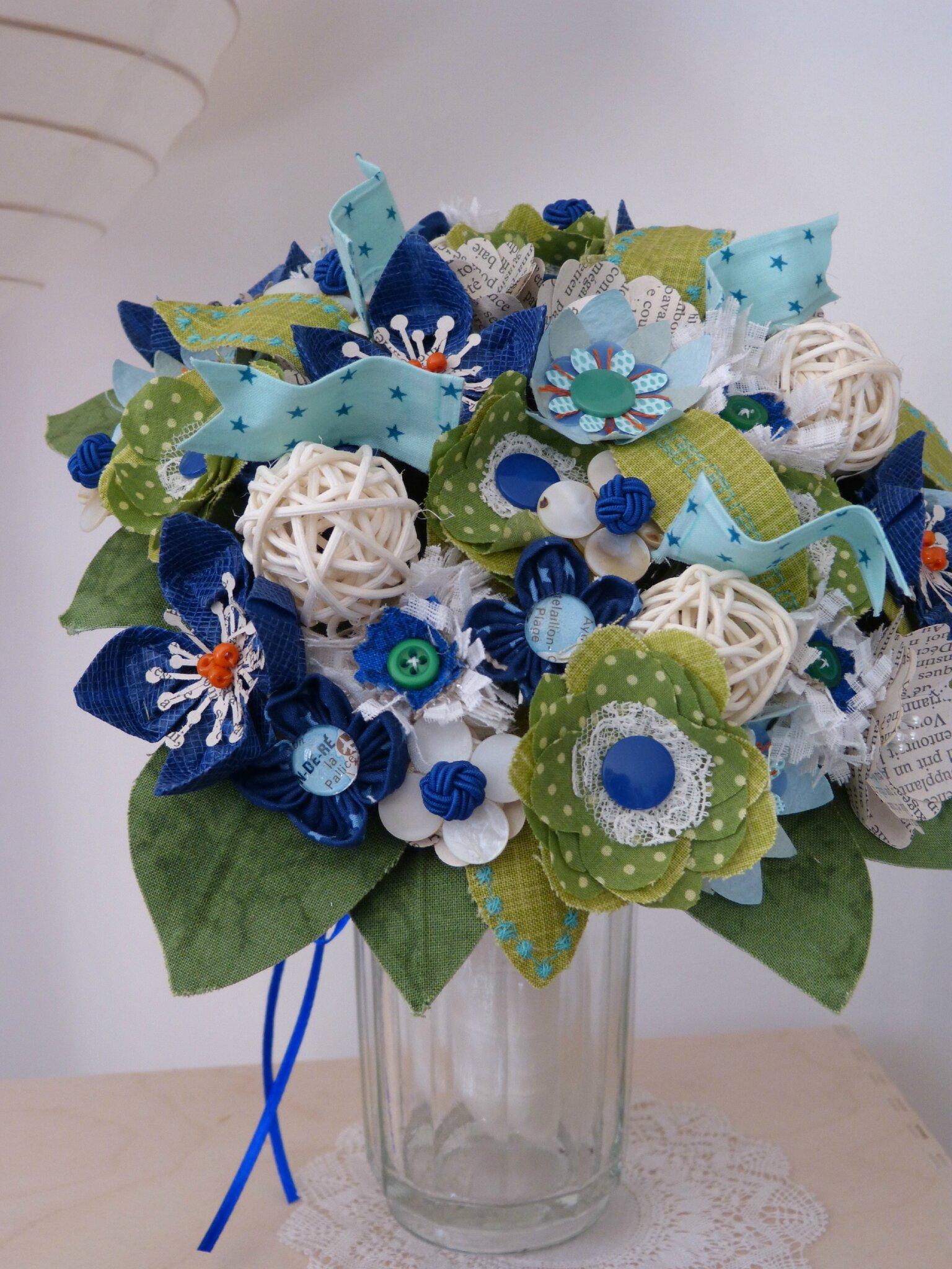 Fleurs en papier tous les messages sur fleurs en papier for Bouquet de fleurs origami