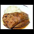 Foie de veau, sauce au marsala et café
