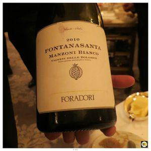 Foradori Fonatanasanta Manzoni Bianco 2010