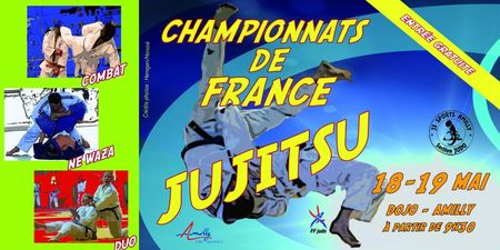 championnats de france de jujitsu