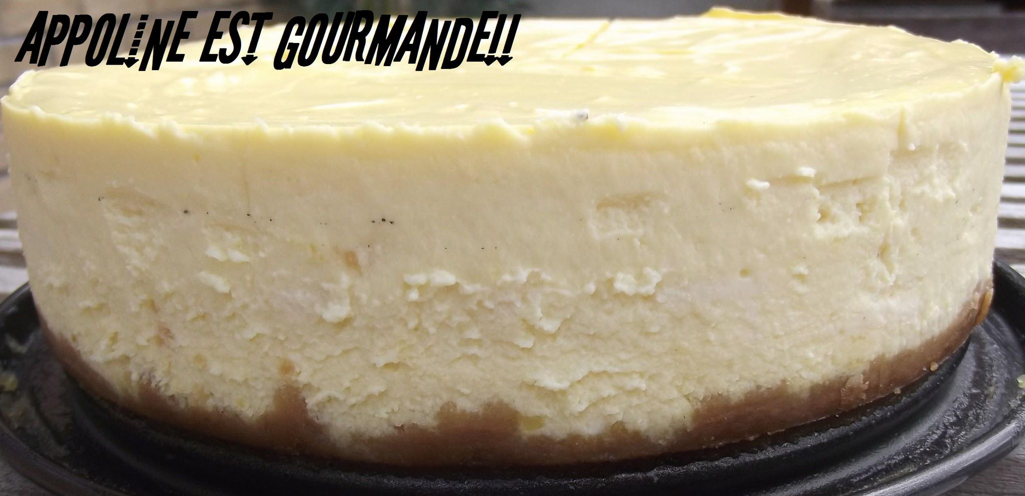 Cheesecake Au Fromage Blanc Appoline Est Gourmande