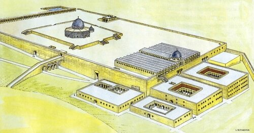 temple-mount-in-the-umayyad-period-reconstructed-by-leen-ritmeyer-and-copied-the-best-source-on-the-physical-history-of-the-temple-mount