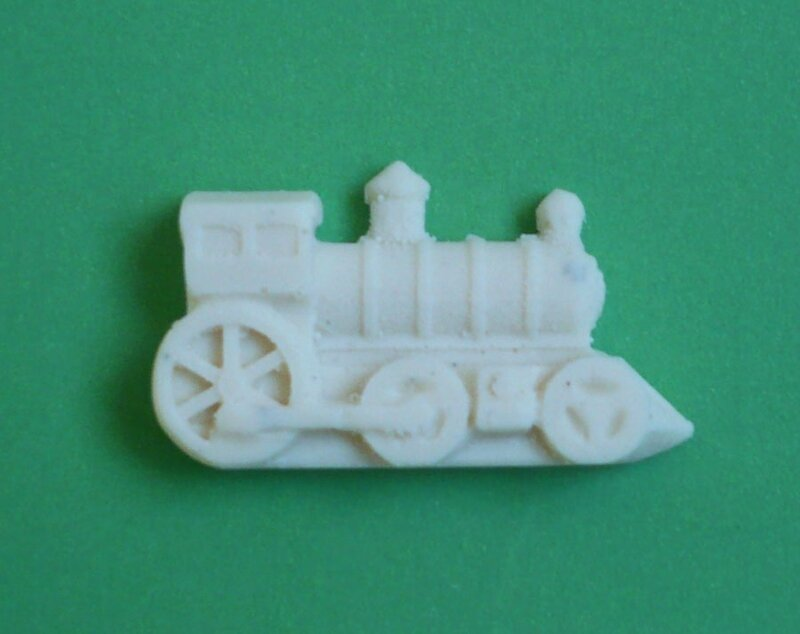 moule silicone locomotive train demi forme