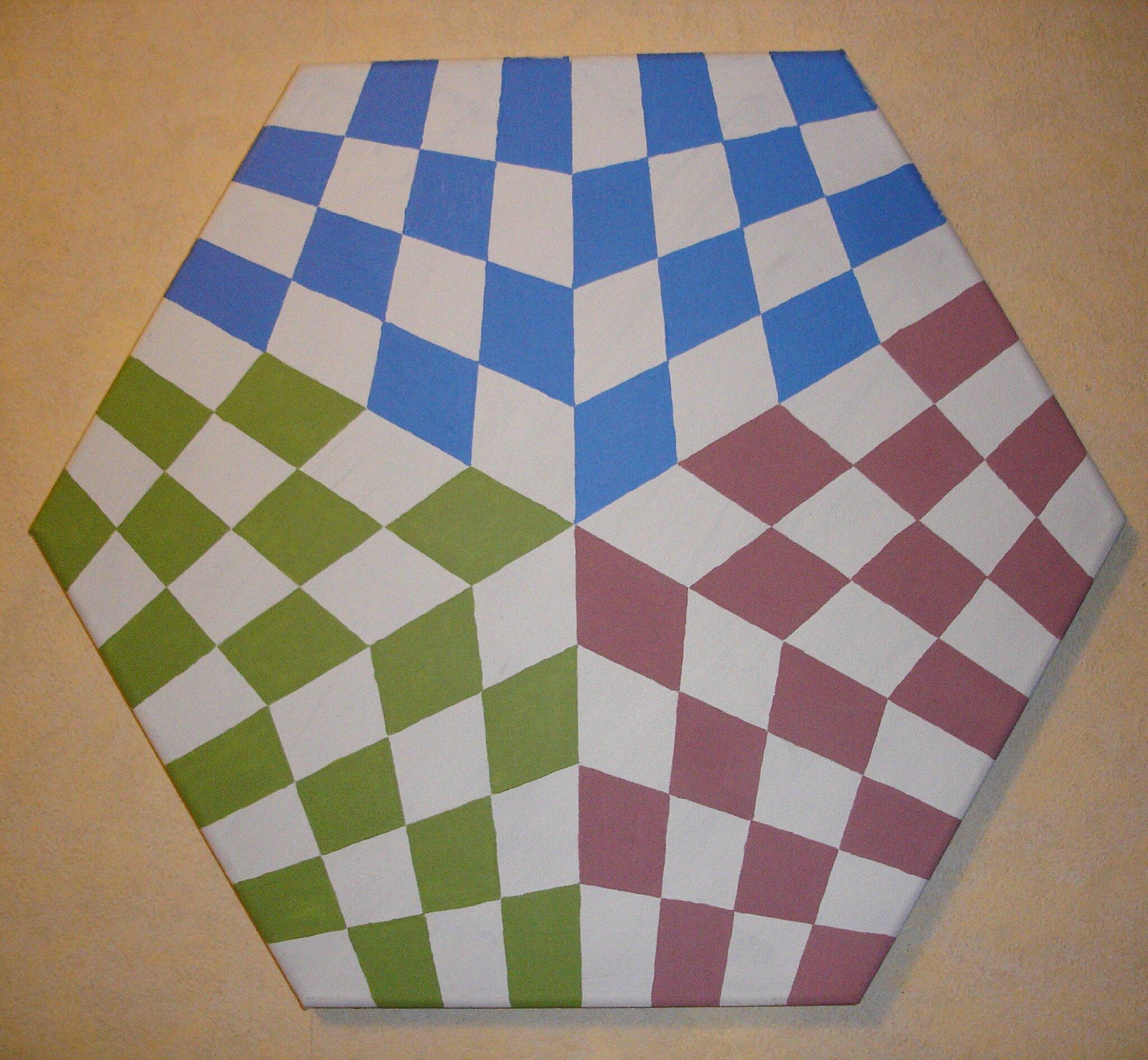 Bức tranh này lấy mẫu từ hình vẽ bàn cờ 3 người chơi.