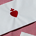 porte serviette coeur chouan