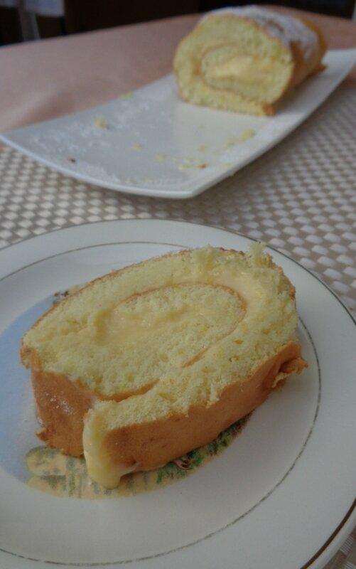 biscuit roulé citron