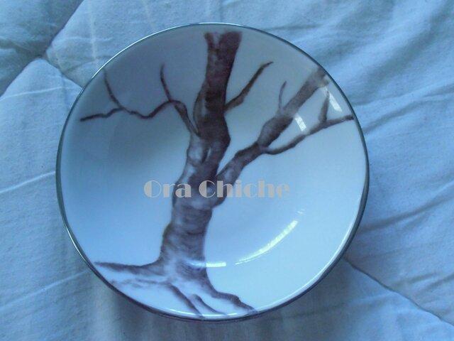 Petite coupelle arbre mort thème gothique