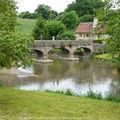 Pont piétons à st-pierre-sur-erve