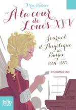 A la cour de Louis XIV couv