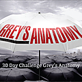 30 day challenge grey's anatomy - jours 15 à 21