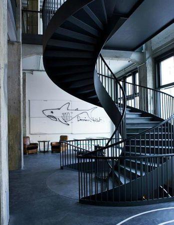 Escalier 2 chez thepursuitaesthetic