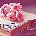 The book blogger test.