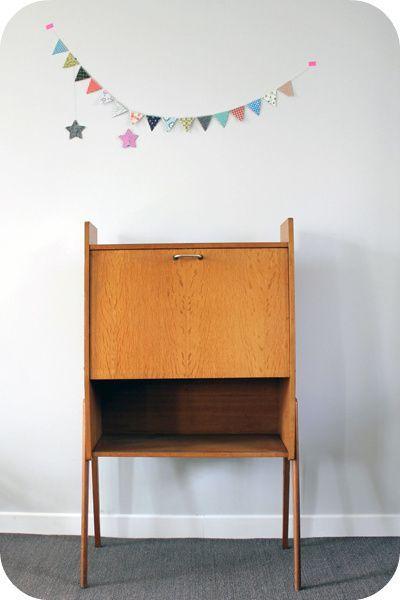 secr taire ann es 50 pieds compas l 39 atelier du petit parc. Black Bedroom Furniture Sets. Home Design Ideas