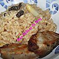 Risotto d'asperges aux morilles et médaillons de filet mignon 07