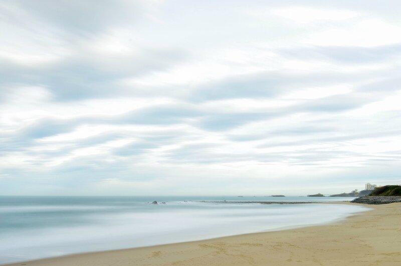 plage de la milady,Biarritz