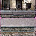 Souillac : sous la halle les mesures a grains du xviii ème siècle ( 46 lot)