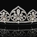 Diamond tiara/necklace, circa 1910
