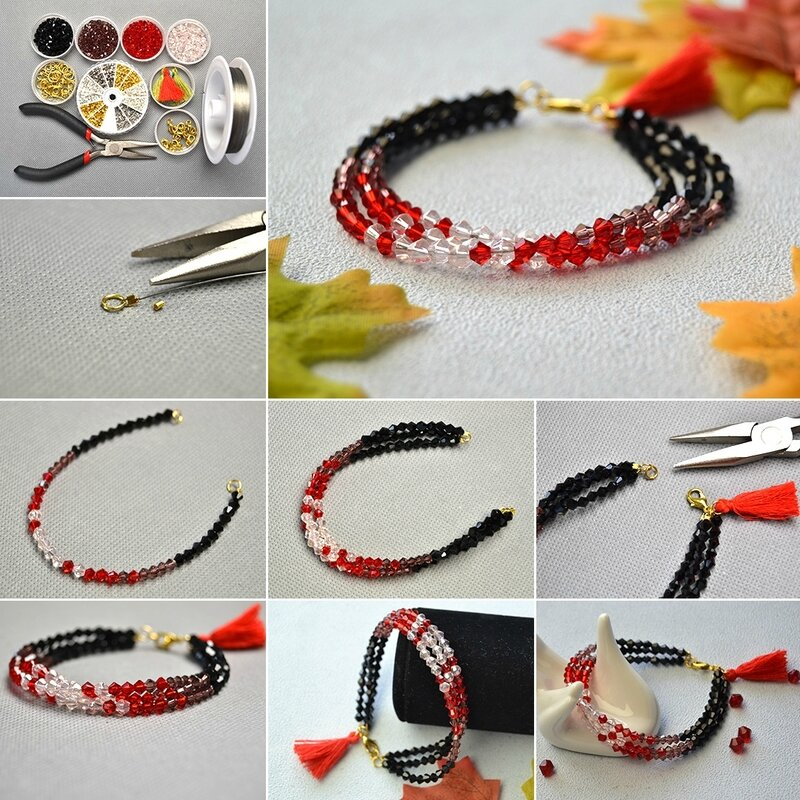 1080-How-to-Make-Ombre-Glass-Bead-Bracelet