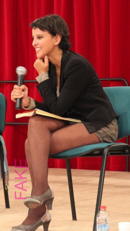 Najat Vallaud-Belkacem, petite culotte