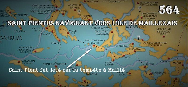 golfe picton tournée pastorale saint pient naufrage Maillé