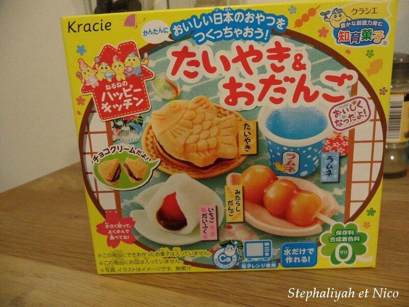 Kit kracie bonbons japonais - 21 décembre 2017