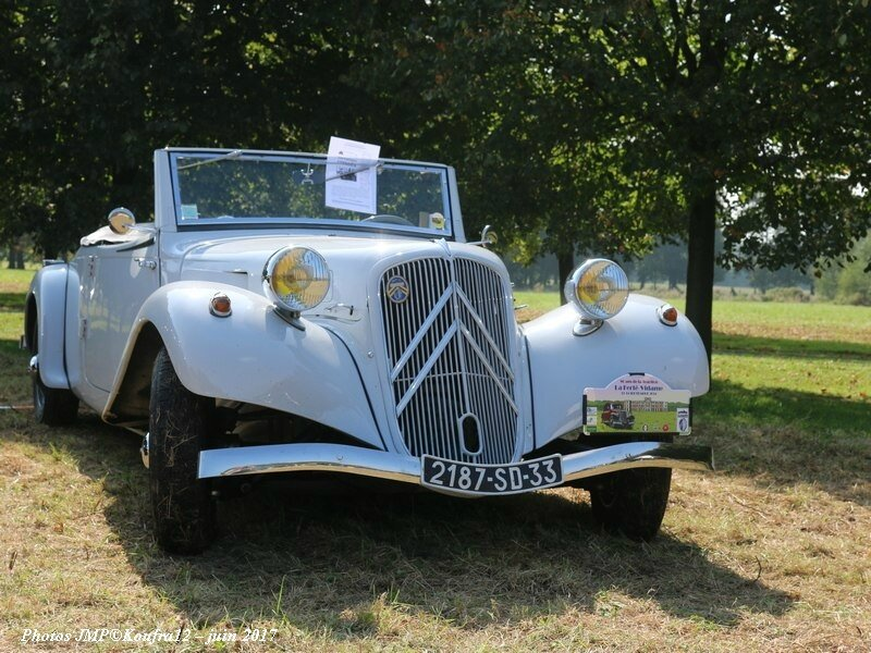 Photos JMP © Koufra12 - Traction avant 80 ans - 00311