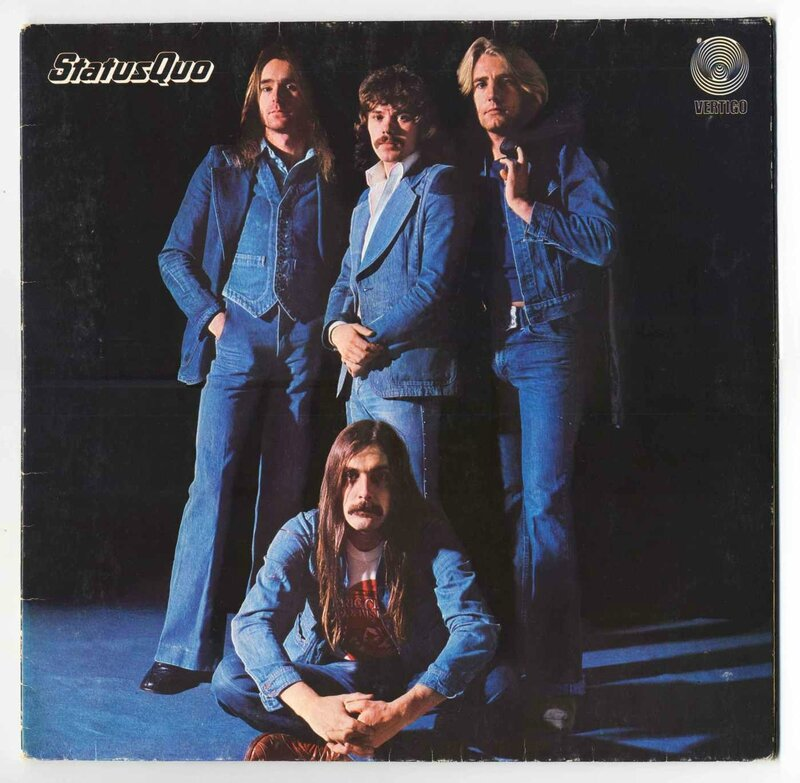 Status quo_1976_Blue for you