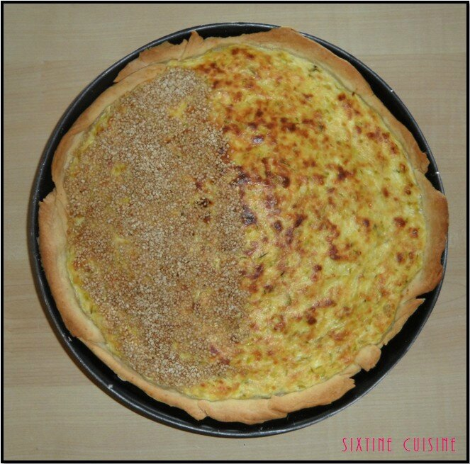 Tarte courgette brousse 2