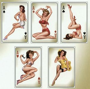 CARTES POSTALES pin up- PC900_115