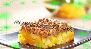 crumble à l'ananas