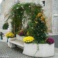Banc fleuri à Saint-Jean-Le-Blanc (45)