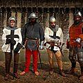 Les combattants de la Compagnie Grise , après les batailles...