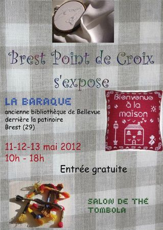 affiche brest point de croix