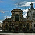 Vue sur la cathédrale de Notre-Dame du Havre.