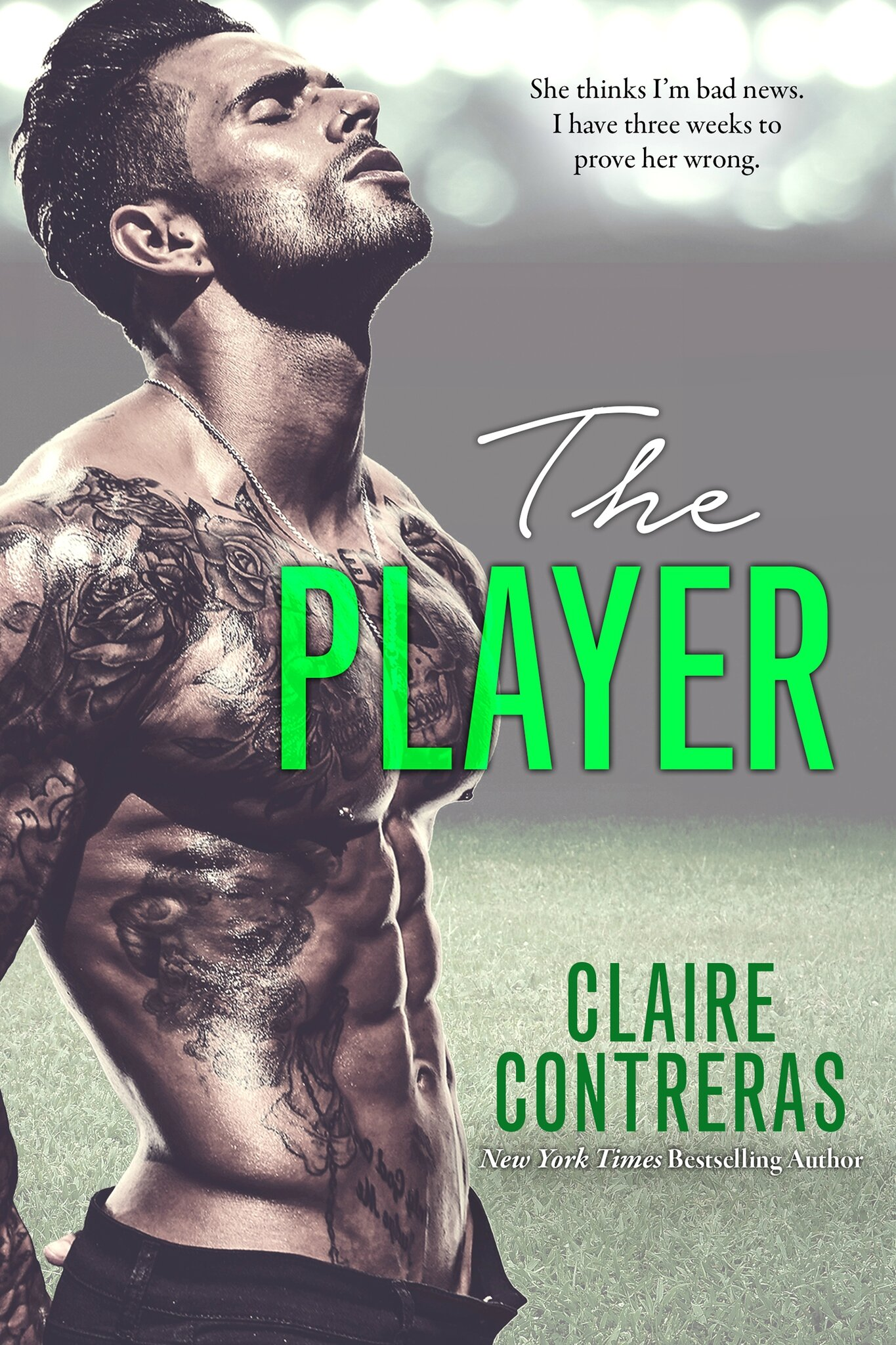 ** Release Blitz ** The Player by Claire Contreras