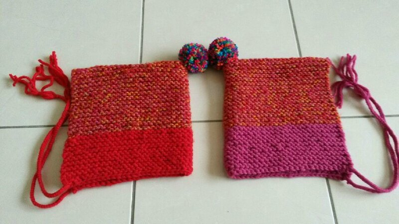 Bonnet jumelles