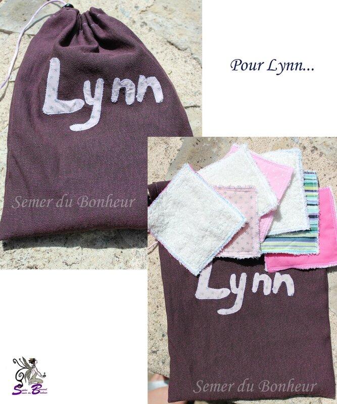Sac à lingettes pour Lynn